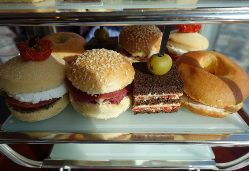 Afternoon Tea Sandwiches, Atmosphere Lounge Dubai