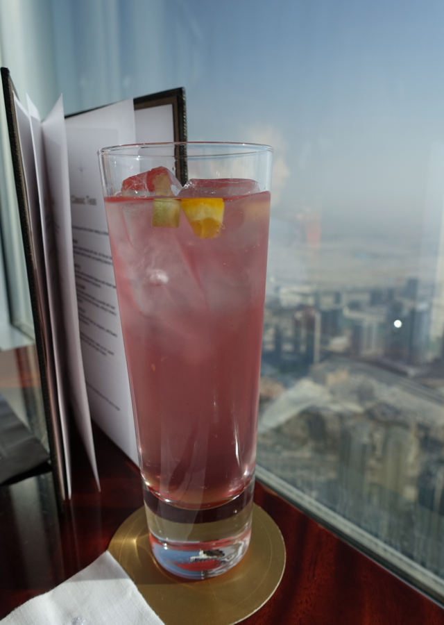Iced Tea, Atmosphere Lounge at Burj Khalifa Dubai