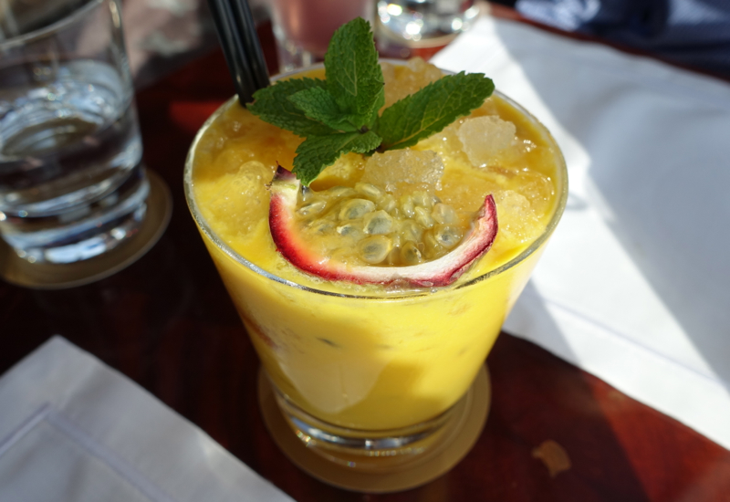 Tropical Smile Mocktail, Atmosphere Lounge