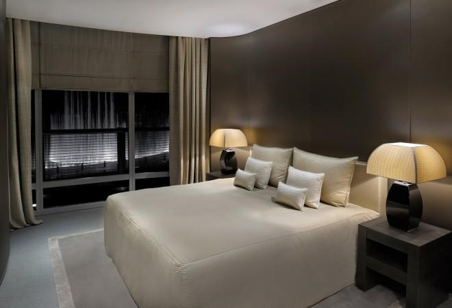 Armani Hotel Dubai-Fountain Suite with View of Dubai Fountain