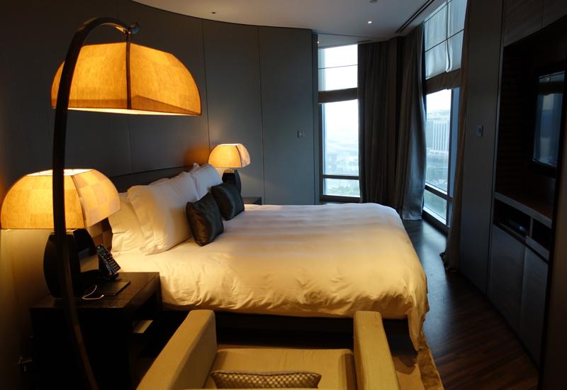 Armani Hotel Dubai Photos and Virtuoso Client Review - Armani Classic Room Bedroom