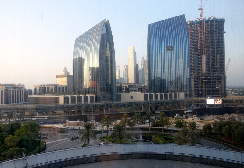 View from Armani Classic Room, Armani Hotel Dubai