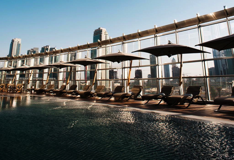 Armani Hotel Dubai Swimming Pool
