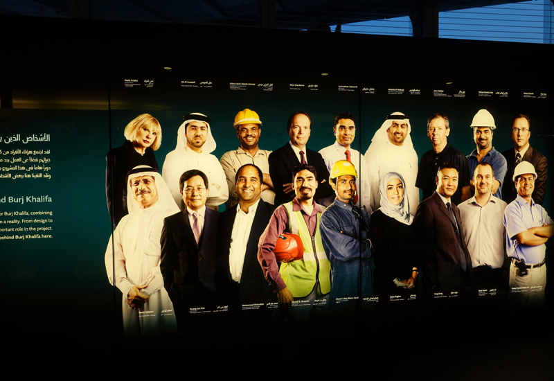 Burj Khalifa Exhibit: Teams Who Designed and Built