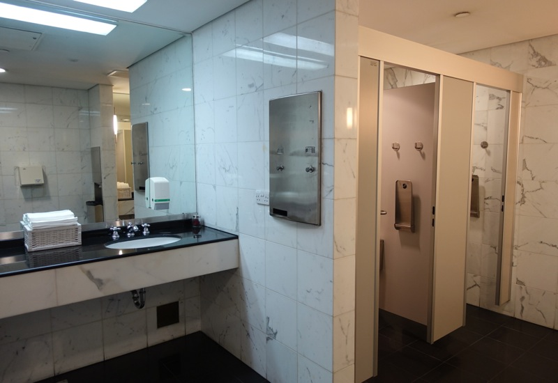 British Airways Galleries Lounge Dubai Bathroom