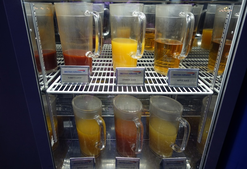 Juices, British Airways Galleries Lounge, Dubai