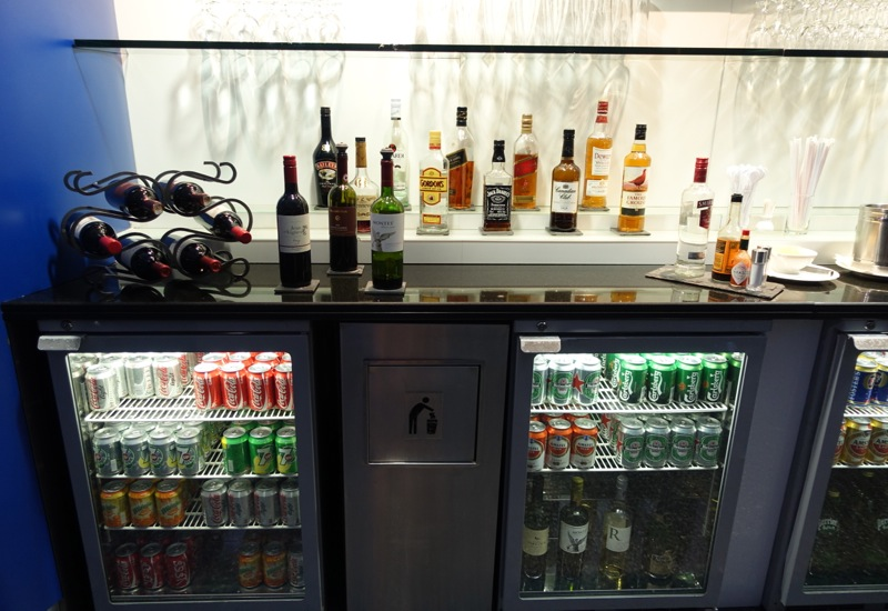 Wine and Liquor, British Airways Galleries Lounge, Dubai