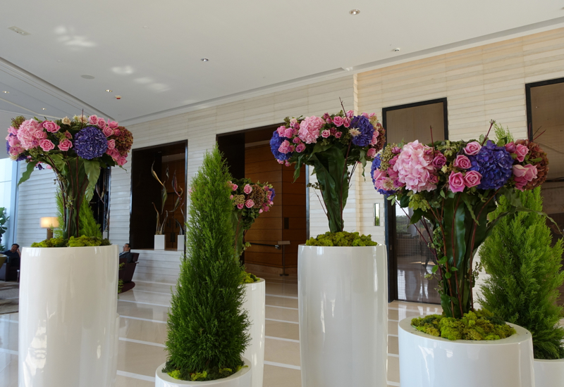 Four Seasons Hong Kong Lobby Flowers