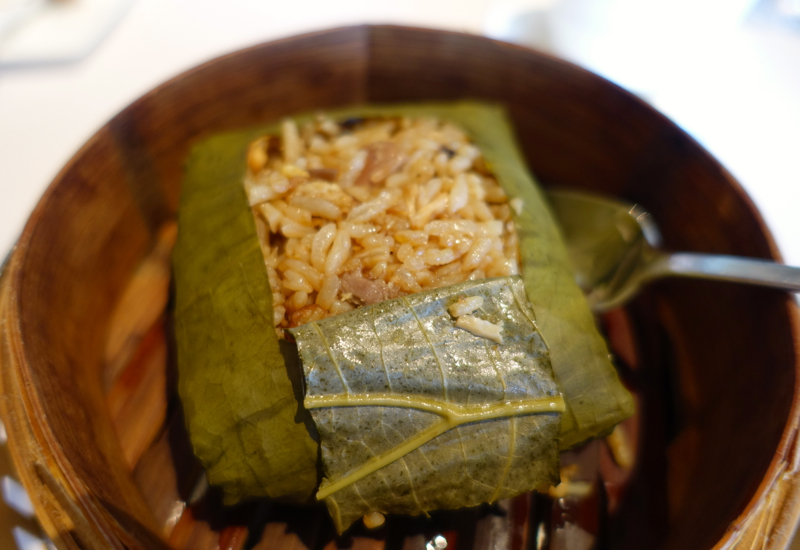Lotus Leaf Wrapped Fried Rice, Lung King Heen