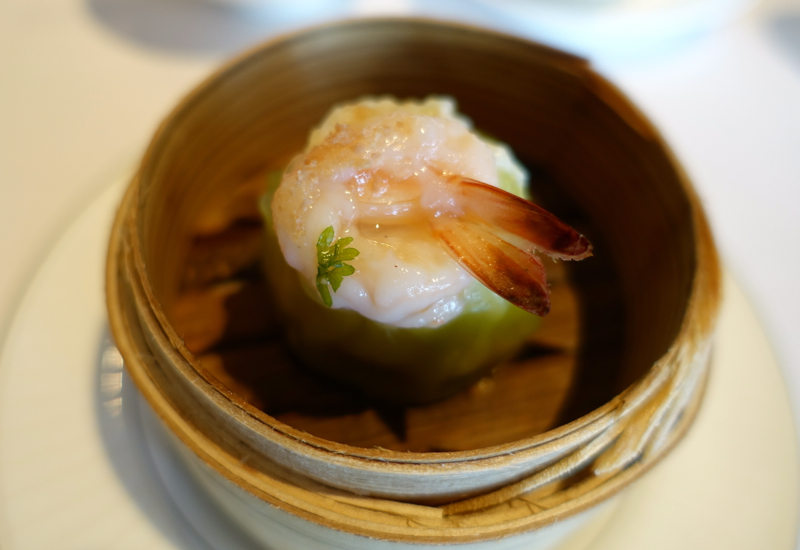 Review-Lung King Heen - Lobster Scallop Dumpling