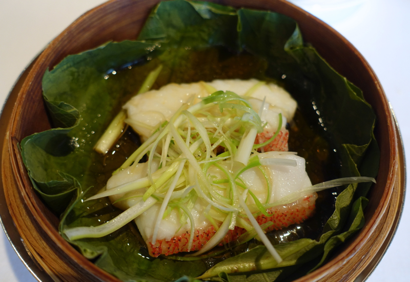 Steamed Garoupa Fillet, Lung King Heen