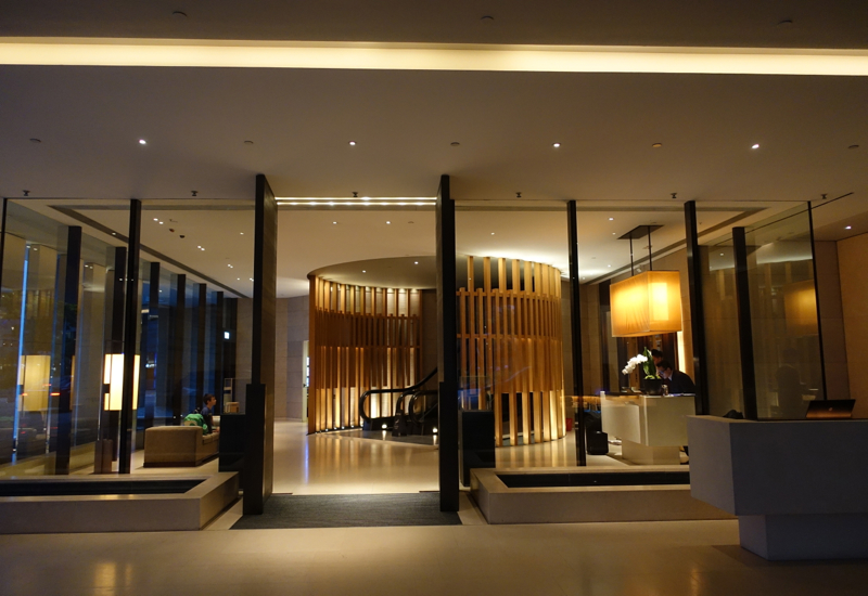 Review-The Upper House Hong Kong-Lobby Entrance