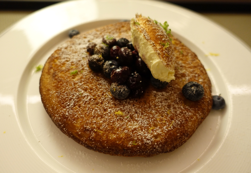 Dutch Blueberry Pancake from Cafe Gray, The Upper House