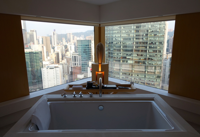 Soaking Tub, The Upper House, Hong Kong