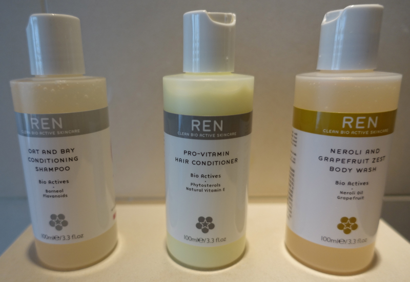 REN Bio Actives Shampoo and Conditioner, The Upper House
