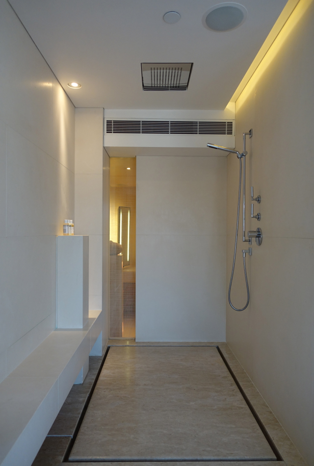Walk in Rain Shower, The Upper House, Hong Kong