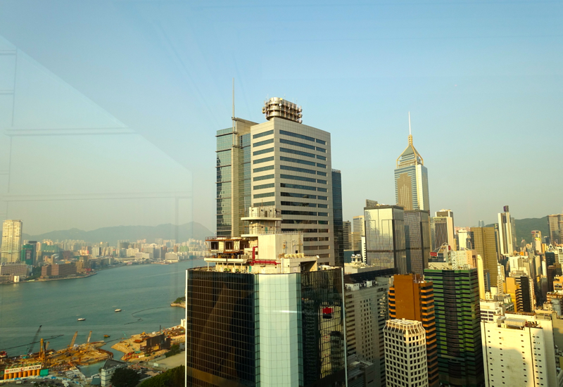 View from The Upper House Hong Kong