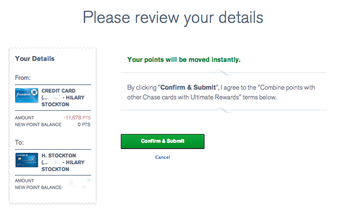 Review the Ultimate Rewards Points That Will Be Moved