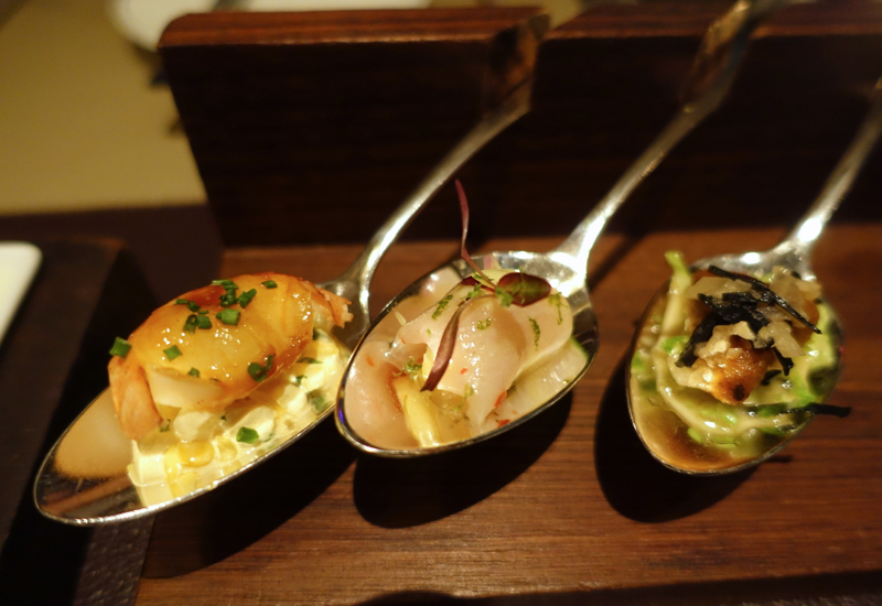 Amuses Bouches, Cafe Gray Deluxe at The Upper House Hong Kong