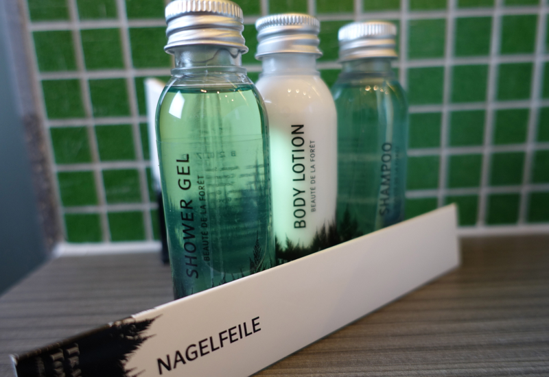 Hotel Branded Bath Products, Hotel Traube Tonbach