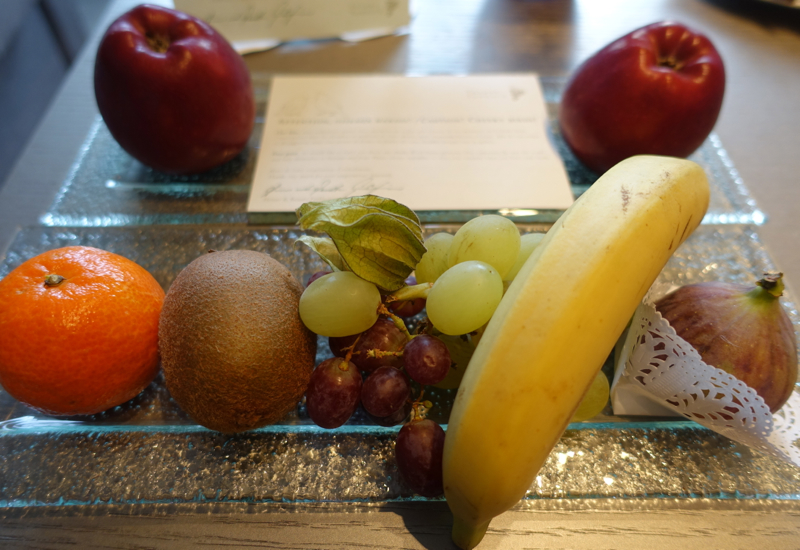 Fruit Welcome Amenity, Hotel Traube Tonbach