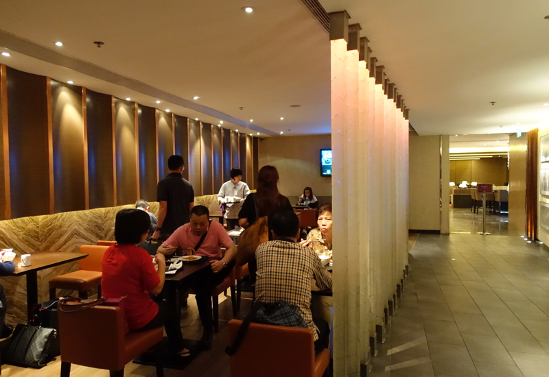 Plaza Premium Lounge East Hall Seating
