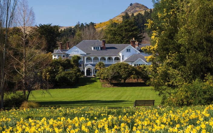 Best New Zealand Luxury Lodges - Otahuna Lodge Christchurch