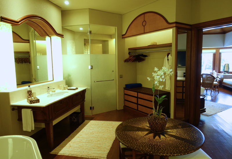 Amanpulo Beach Casita Bathroom