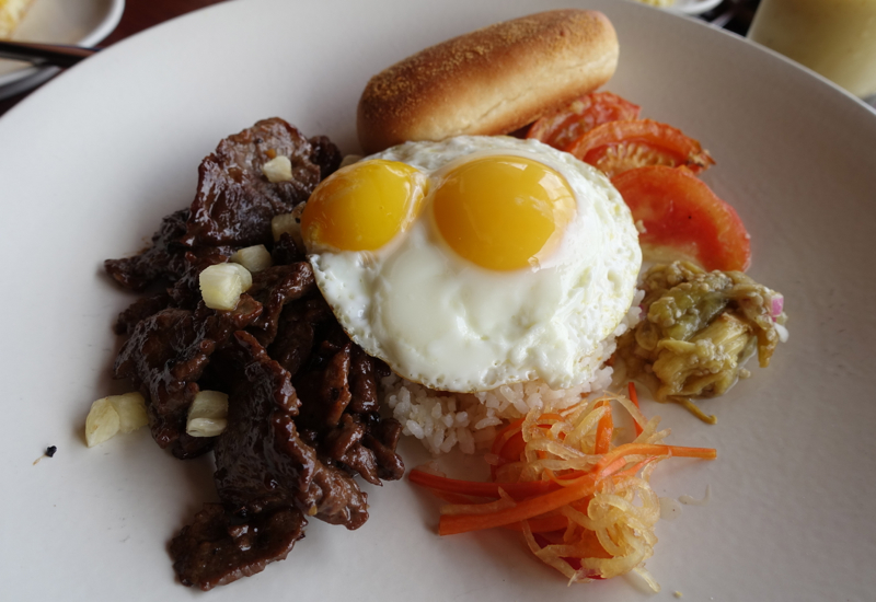 Tapsilog Filipino Breakfast, Amanpulo