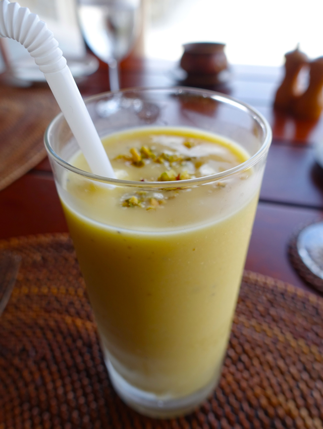 Mango Lassi, Amanpulo Breakfast