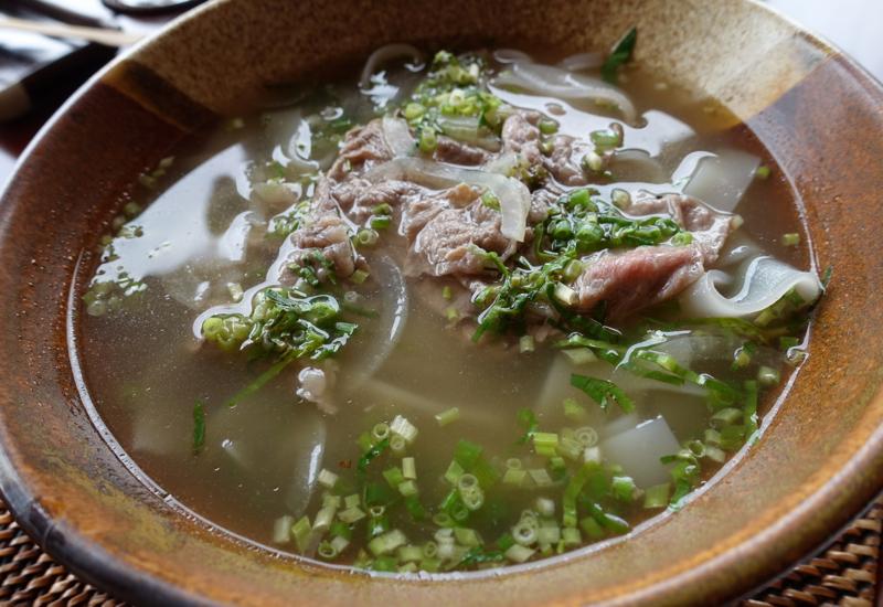 Vietnamese Pho Noodle Soup, Amanpulo