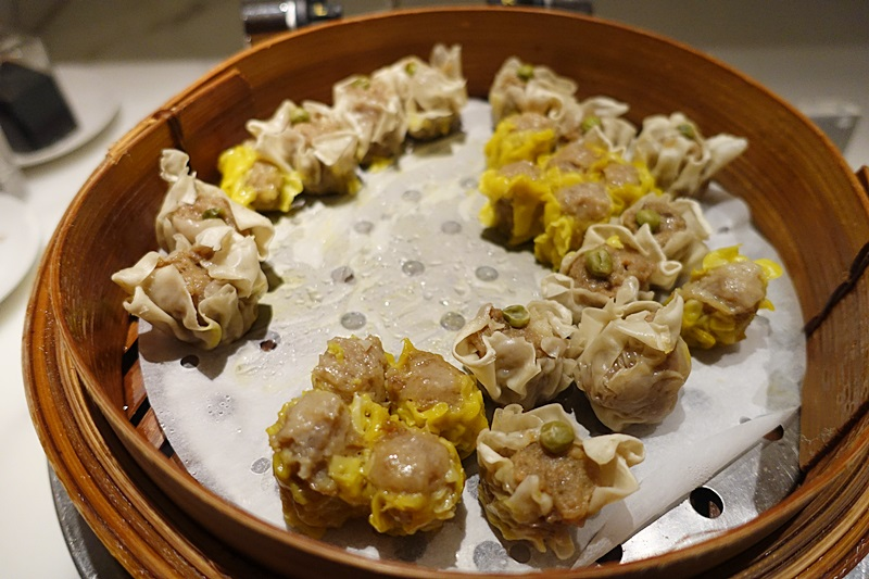 Dim Sum, The Wing Business Class Lounge Review