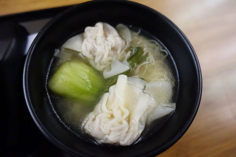 Won Ton Soup, The Noodle Bar, Cathay Pacific
