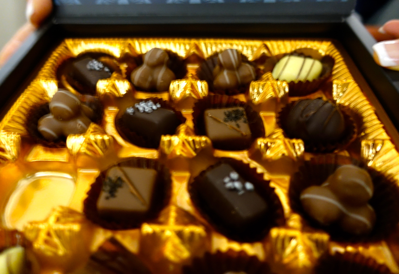 Pralines, Cathay Pacific New Regional Business Class