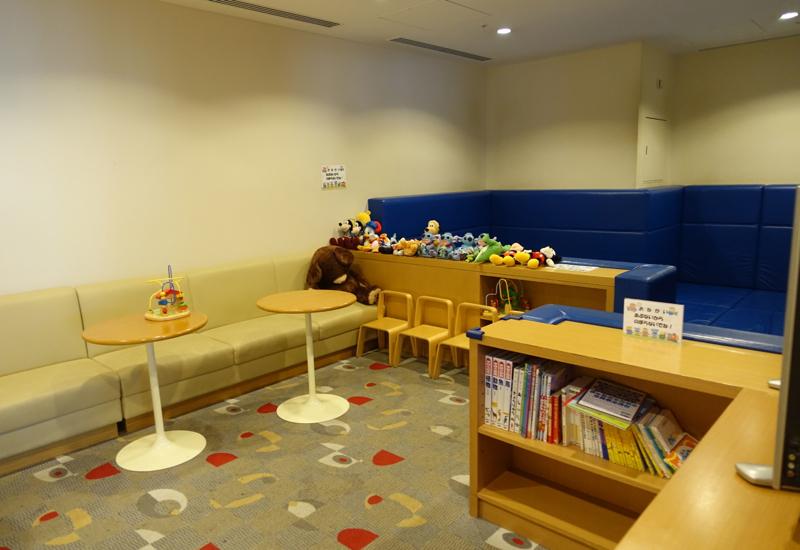 Children's Playroom, JAL Sakura Lounge, Tokyo Narita