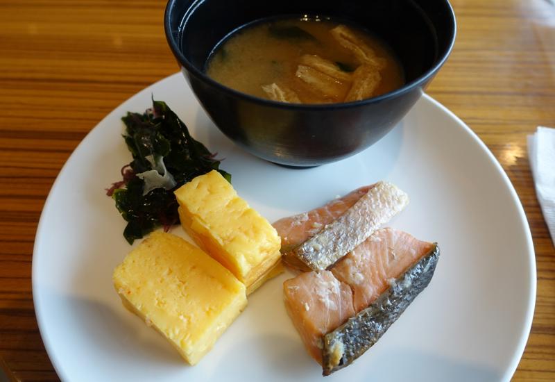 Japanese Breakfast, JAL Sakura Lounge, Tokyo Narita