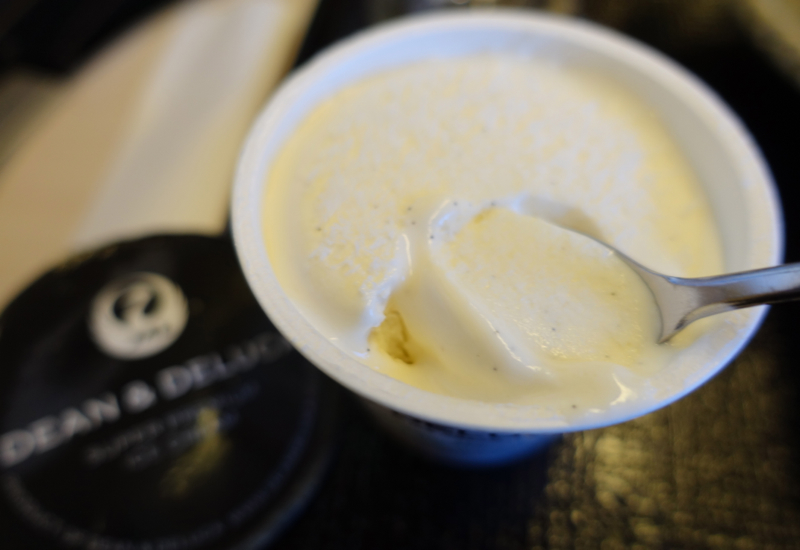 Dean & Deluca Vanilla Bean Ice Cream, JAL Business Class