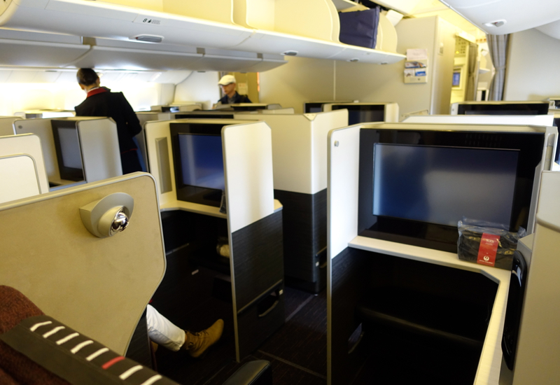 Review-JAL Sky Suite 777 Business Class-Business Class Cabin
