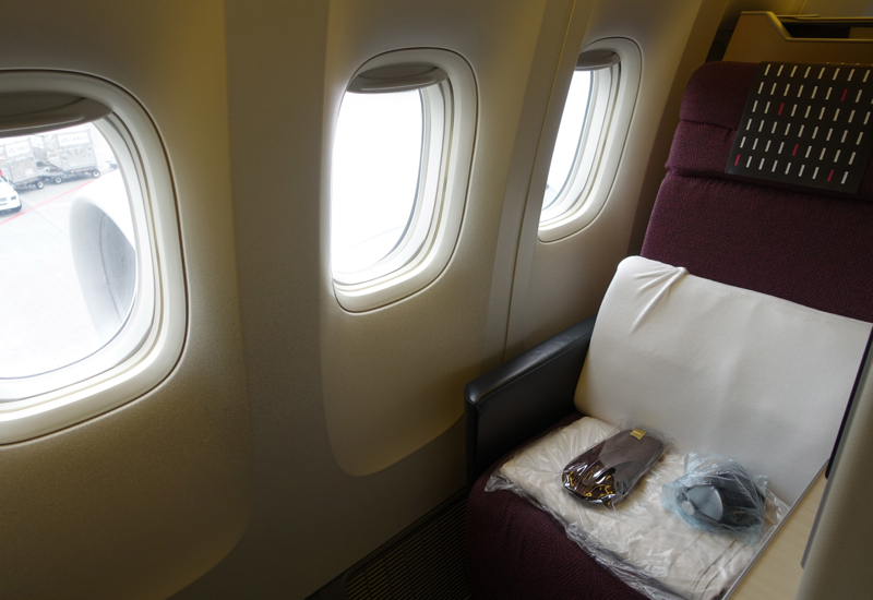 Review-JAL Sky Suite 777 Business Class - Sky Suite Seat