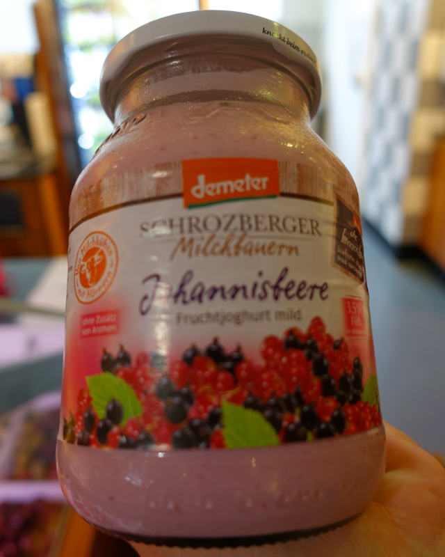 Schrozberg Milchbauern Organic Yogurt