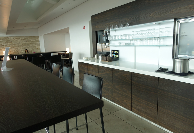 Bar Area, SWISS Lounge at JFK Terminal 4