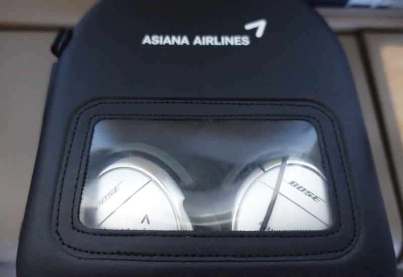 Bose Noise Cancelling Headphones, Asiana First Class