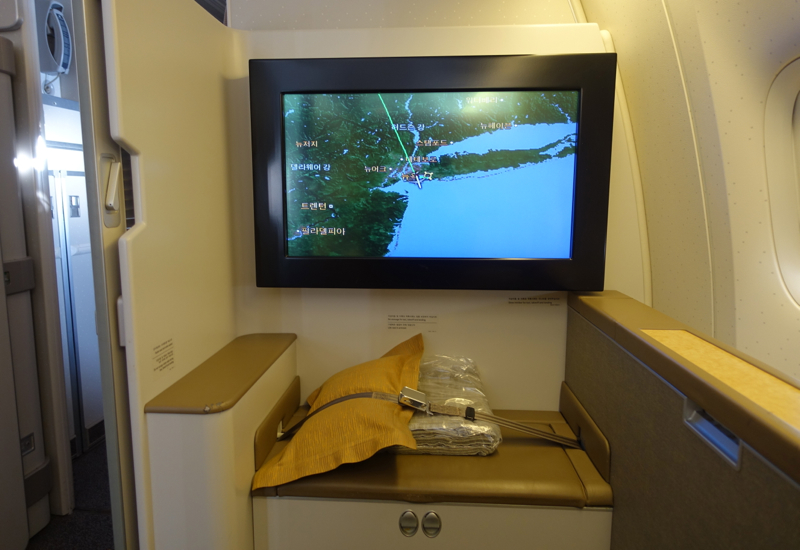 Review-Asiana First Class Suites-Large 32 Inch HD Screen