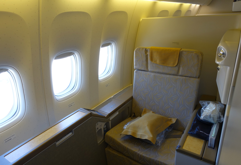 Review-Asiana First Class Suite - Seat 1K