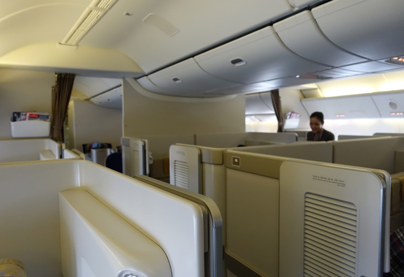 Asiana First Class Suites-First Class Cabin