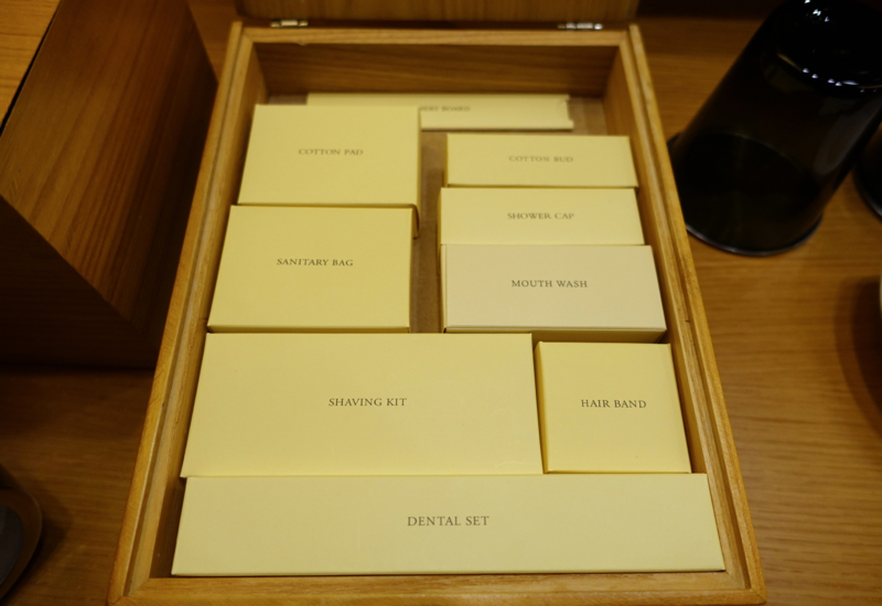 Park Hyatt Seoul Review - Toiletries