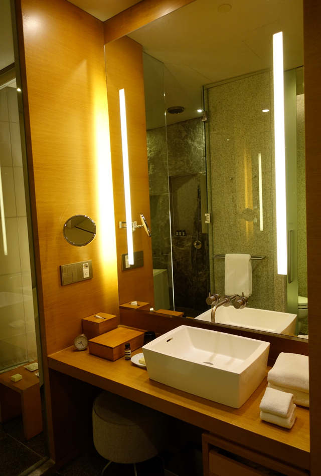 Review-Park Hyatt Seoul-Bathroom Sink and Vanity