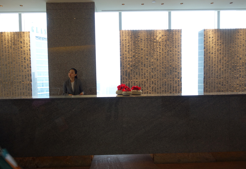 Park Hyatt Seoul Review - Reception Front Desk