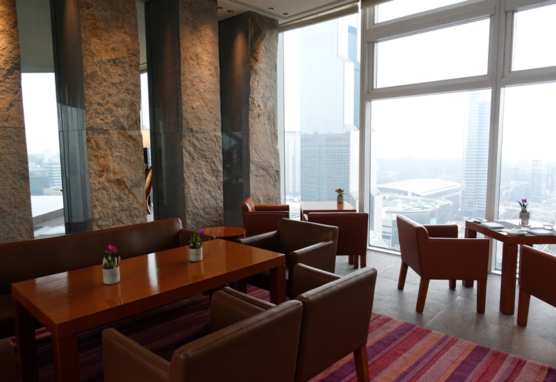 Park Hyatt Seoul Review - Lobby Lounge