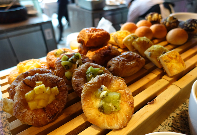 Pastries and Breads, Cornerstone Brunch, Park Hyatt Seoul